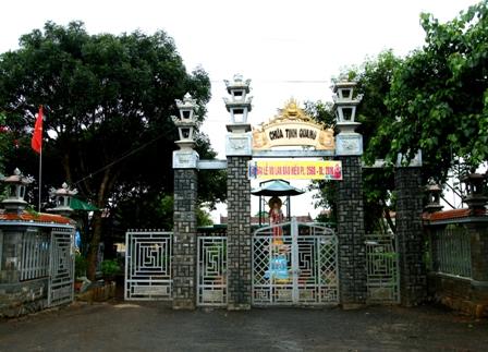 Đăk Lăk: Lịch sử Chùa Tịnh Quang tọa lạc tại huyện Krông Păc.