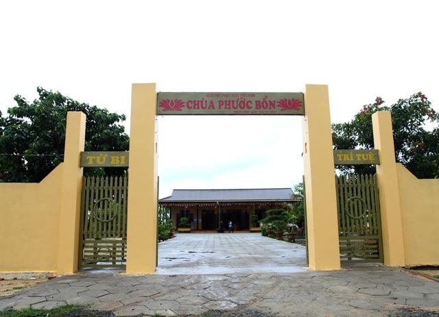 Đăk Lăk: Lịch sử Chùa Phước Bổn tọa lạc tại huyện Krông Păk