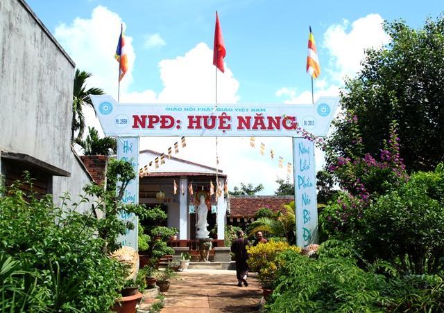 Đăk Lăk: Lịch sử NPĐ Huệ Năng tọa lạc tại huyện Krông Năng
