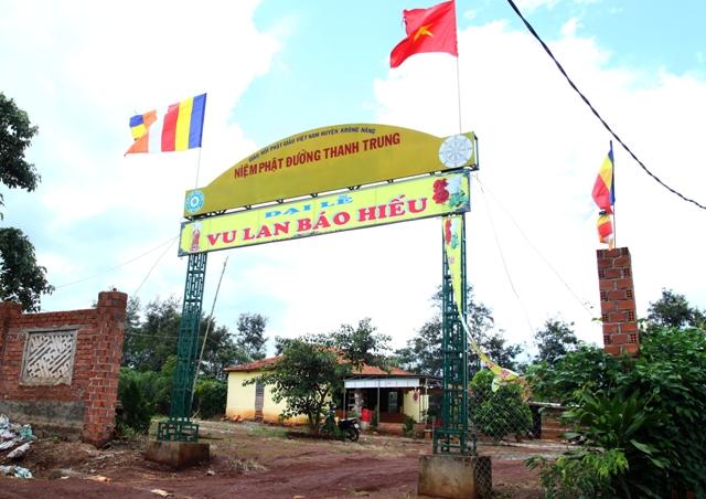 Đăk Lăk: Lịch sử NPĐ Thanh Trung tọa lạc tại huyện Krông Năng
