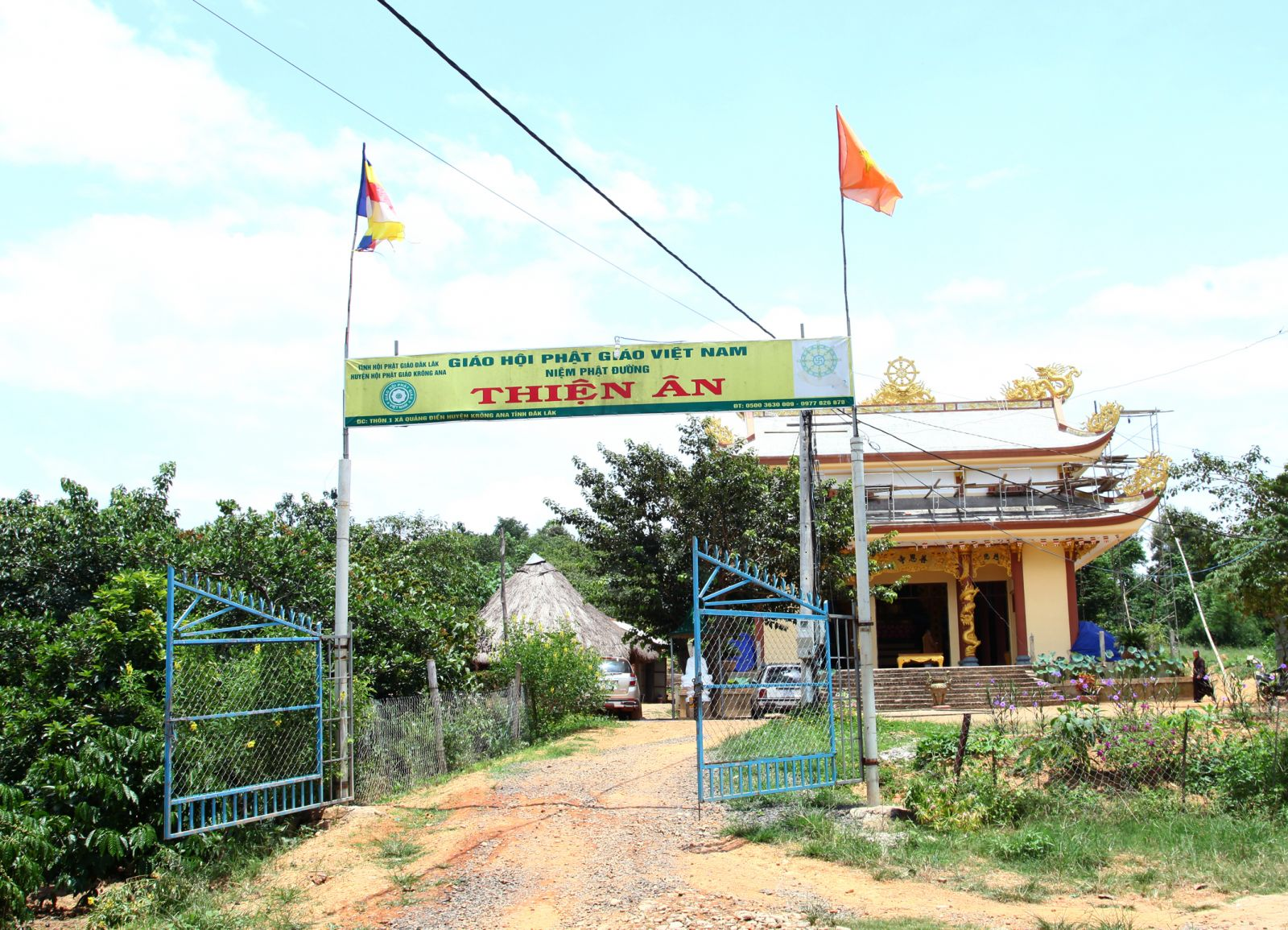 Đăk Lăk: Lịch sử NPĐ Thiện Ân tọa lạc tại huyện Krông Ana.