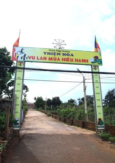 Đăk Lăk: Lịch sử NPĐ Thiện Hòa tọa lạc tại huyện Krông Buk.