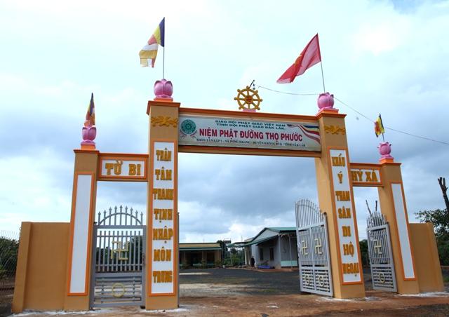 Đăk Lăk: Lịch sử NPĐ Thọ Phước tọa lạc tại huyện Krông Buk.