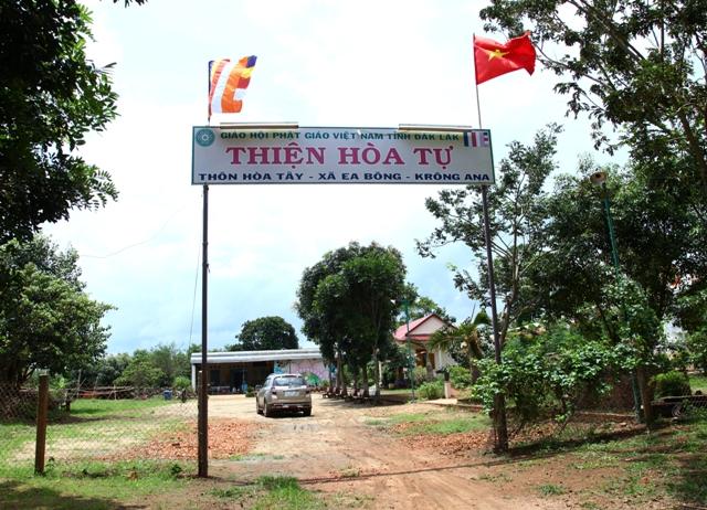 Đăk Lăk: Lịch sử NPĐ Thiện Hòa tọa lạc tại huyện Krông Ana.