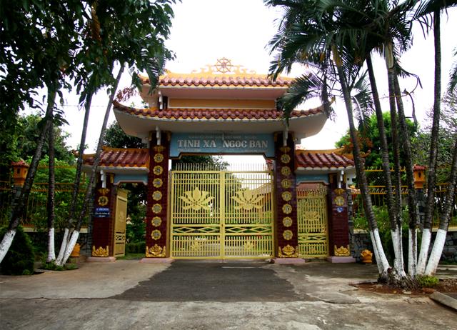 Đăk Lăk: Lịch sử Tịnh xá Ngọc Ban tọa lạc tại Thành phố Ban Mê Thuột.