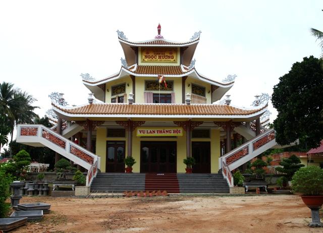 Đăk Lăk: Lịch sử Tịnh xá Ngọc Hương tọa lạc tại Thành phố Buôn Ma Thuột.
