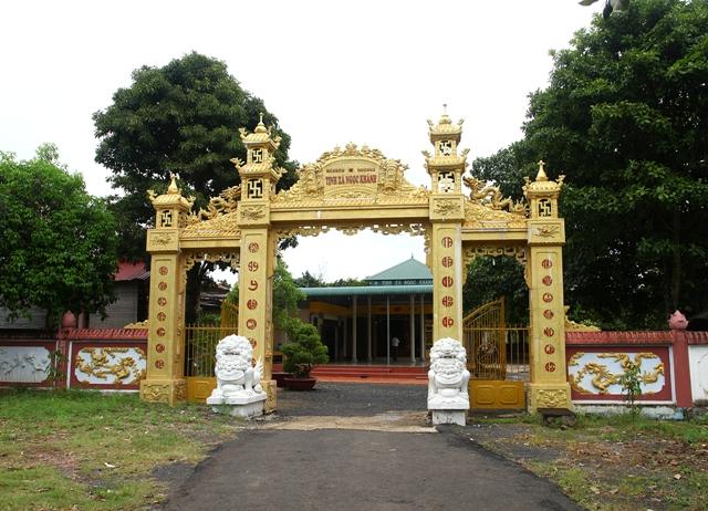 Đăk Lăk: Lịch sử Tịnh Xá Ngọc Khánh tọa lạc tại Thành phố Buôn Ma Thuột