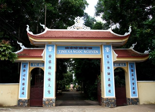 Đăk Lăk: Lịch sử Tịnh xá Ngọc Nguyên tọa lạc tại Thành phố Buôn Ma Thuột.