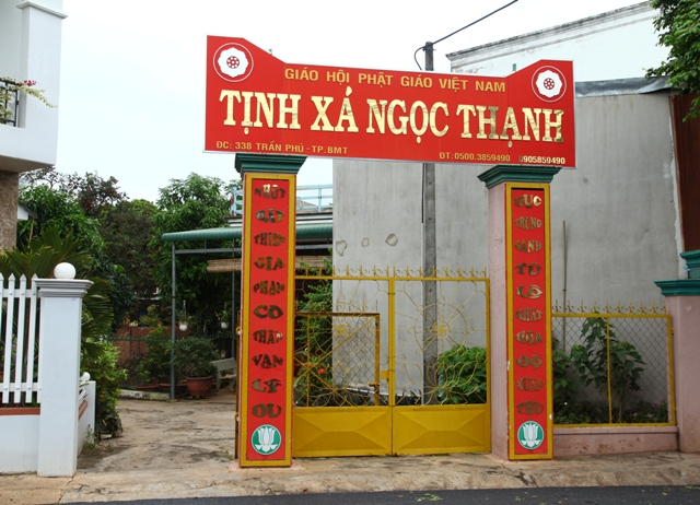 ĐăkLăk: Lịch sử Tịnh Xá Ngọc Thạnh tọa lạc tại Thành phố Buôn Ma Thuột