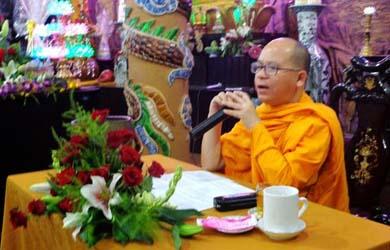 Đại Đức Thích Giác Phổ quang lâm giảng Pháp cho quý Phật tử chùa Hoa Nghiêm Thị Trấn Quảng Phú, Huyện CưM'gar