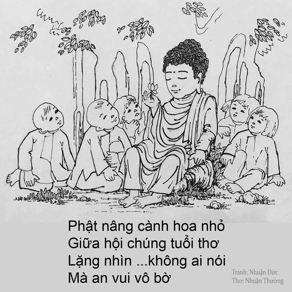 """Những bức vẽ """"Đức Phật với tuổi thơ"""" cực kỳ dễ thương"""