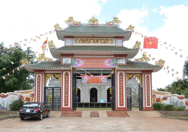 Đại hội đại biểu Phật Giáo Thị Xã Buôn Hồ lần thứ 3 nhiệm kỳ 2016-2021