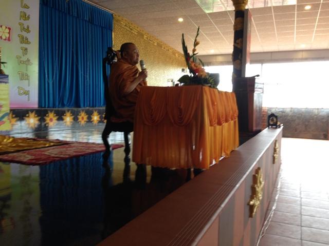 Ngày 11 tháng 9 năm 2016 chùa Hoa Nghiêm - Huyện CưM'gar đã diễn ra Khóa Tu Một Ngày An Lạc