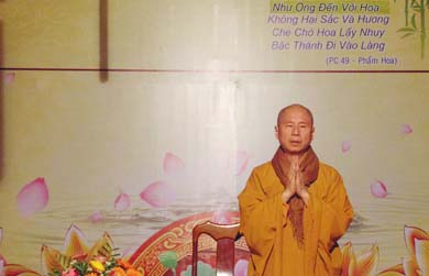 TT. Thích Chân Quang thuyết giảng tại chùa Hoa Nghiêm huyện CưM'gar