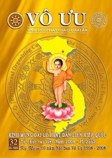 Tập San Vô Ưu số 32 - Kính Mừng Đại Lễ Phật Đản Liên Hiệp Quốc