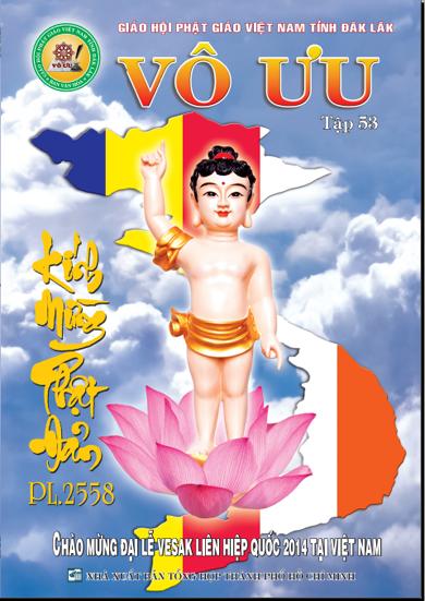 Tập San Vô Ưu số 53 - Chào Mừng Đại Lễ VESAK Liên Hiệp Quốc 2014 Tại Việt Nam.